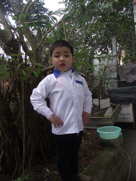 Mẫu áo đồng phục học sinh tiểu học